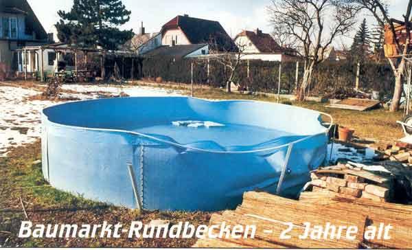 Pool expert for Baumarkt pool