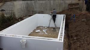 басейн от стиропор