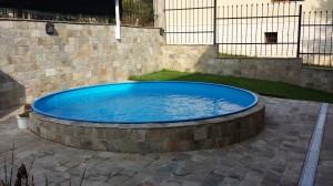 кръгъл сглобяем басейн